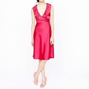 NWT Hot J Crew Rosalind Dress in Tricotine Size 12